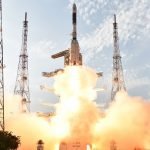 Photos: India's GSLV streaks into clear Skies with INSAT-3DR Weather Satellite
