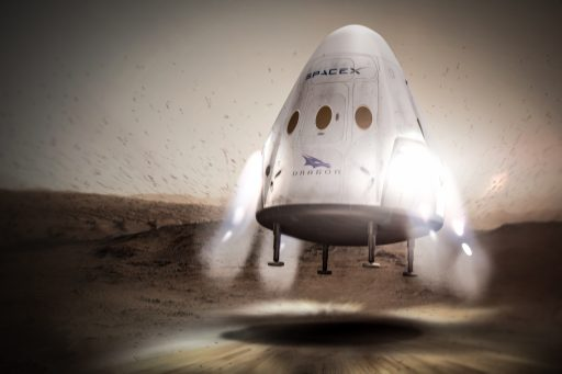 Red Dragon Landing - Image: SpaceX