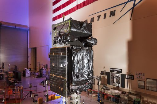 SBIRS-GEO 3 currently awaiting a new launch date while work is underway to diagnose engine problems on other satellites - Photo: Lockheed Martin