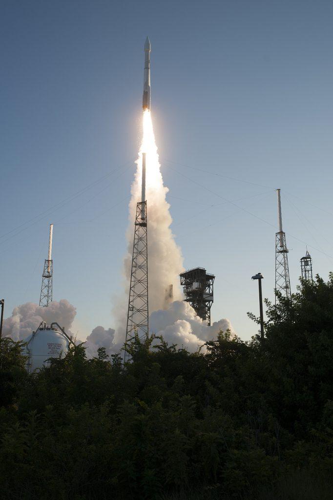 Photos: OSIRIS-REx departs for Asteroid Bennu atop Atlas V ...
