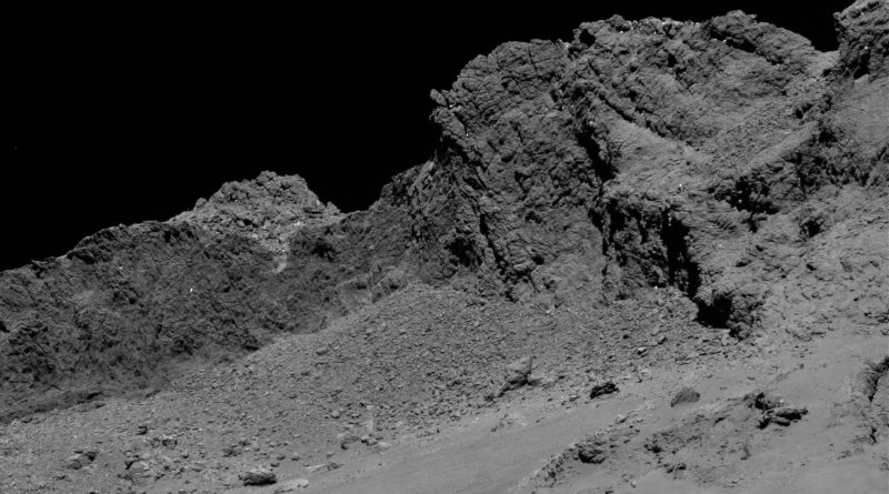 Rosetta Spacecraft ends Milestone Mission with deliberate Crash Landing on Comet 67P