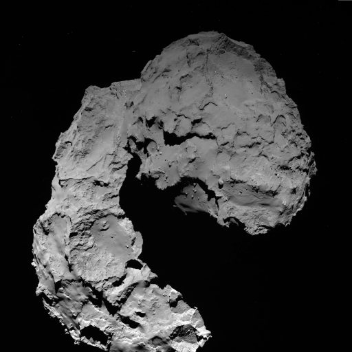 67P on September 29, 2016 - Photo: ESA/Rosetta/MPS for OSIRIS Team MPS/UPD/LAM/IAA/SSO/INTA/UPM/DASP/IDA