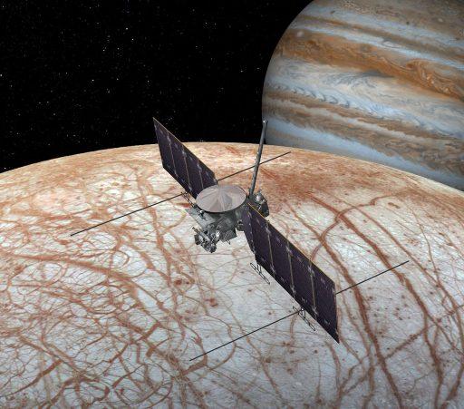 Europa Clipper Mission Concept - Image: NASA/JPL/Caltech