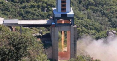 North Korean Rocket Engine Test – Potential Precursor to upcoming Satellite Launch