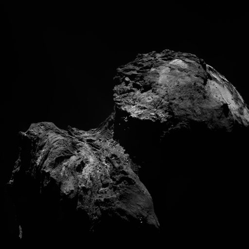 Photo: ESA/Rosetta/MPS for OSIRIS Team MPS/UPD/LAM/IAA/SSO/INTA/UPM/DASP/IDA