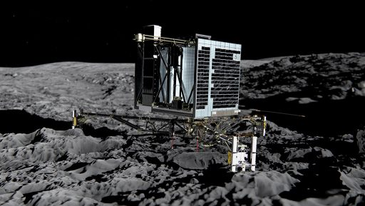 Philae - Desired Landing Configuration - Credit: ESA/ATG medialab