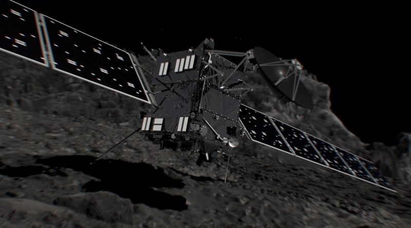 Rosetta's Quest to Touch a Comet – On Collision Course to 67P for Spectacular End of Mission