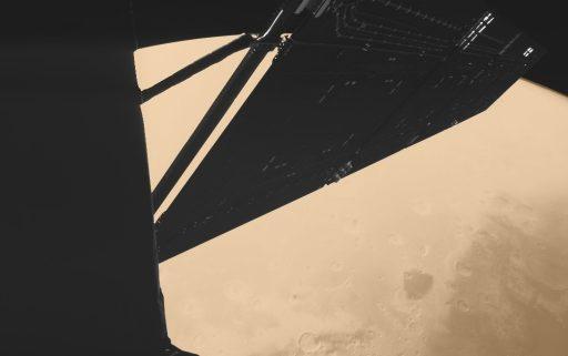 Rosetta's Mars Flyby - Photo: CIVA / Philae / ESA Rosetta