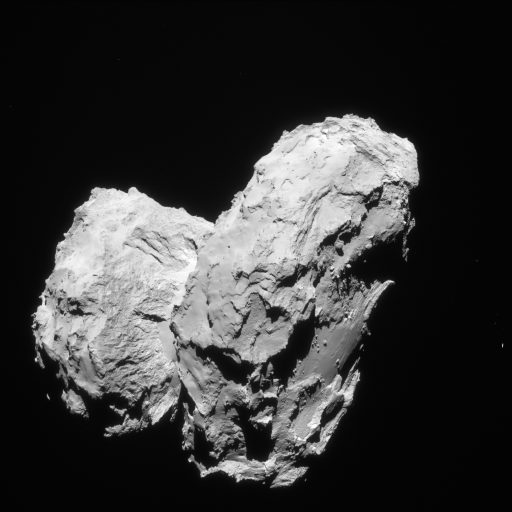 67P close-up - Credit: ESA/Rosetta/MPS for OSIRIS Team MPS/UPD/LAM/IAA/SSO/INTA/UPM/DASP/IDA