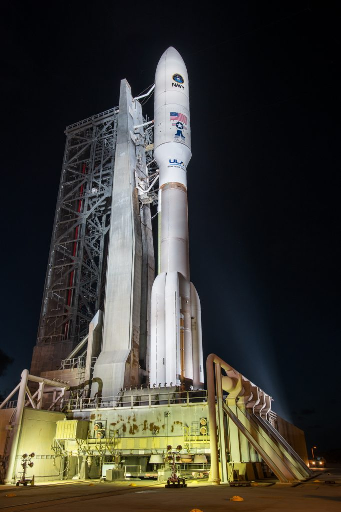 Atlas V in its powerful 551 configuration - Photo: ULA