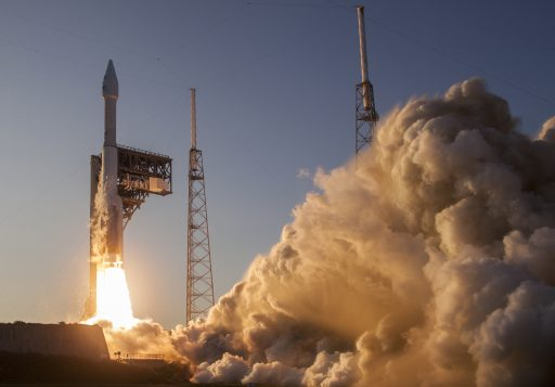 ULA's Atlas V blasts off with NASA's OSIRIS-REx Asteroid Exploration Craft - Photo: ULA