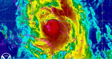 Hurricane Matthew threatens U.S. East Coast, Cape Canaveral Launch Facilities