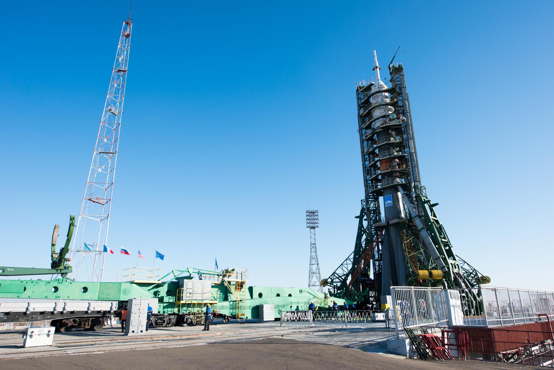 Vol Soyuz FG /MS03Rollout