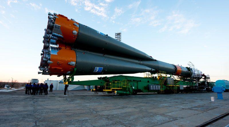 Vol Soyuz FG /MS03 Rollout