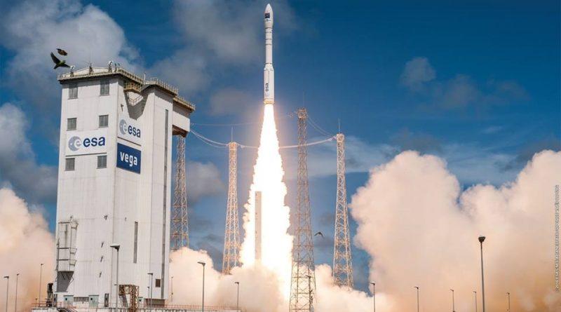 Photos: Vega Rocket blasts off from French Guiana with Turkish Imaging Satellite