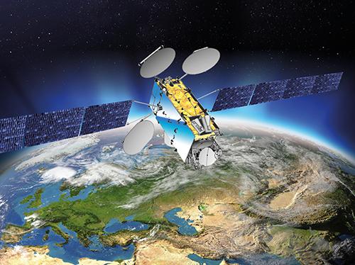 EuropaSat/Hellas Sat 3 - Image: Thales Alenia