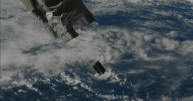 Six CubeSats deployed from Space Station for Technical Demonstration Missions