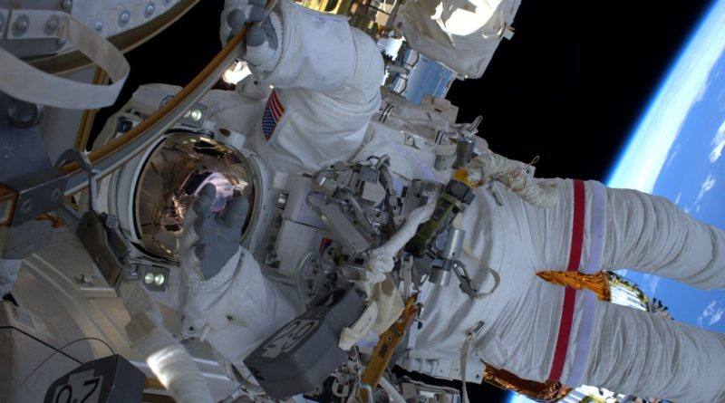 Photos: Astronaut Duo works outside Space Station on second Battery Replacement EVA