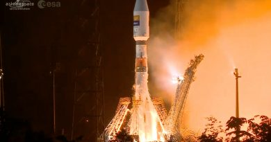 Soyuz aces first Geostationary Mission from French Guiana with new all-European SmallGEO Satellite