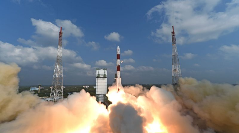 Photos: PSLV takes Flight with 104 Satellites