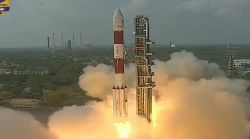 Video: PSLV Rocket thunders off from India with 104 Satellites