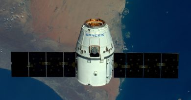 Dragon Cargo Craft on Track for ISS Arrival after Orbit-Raising Maneuvers