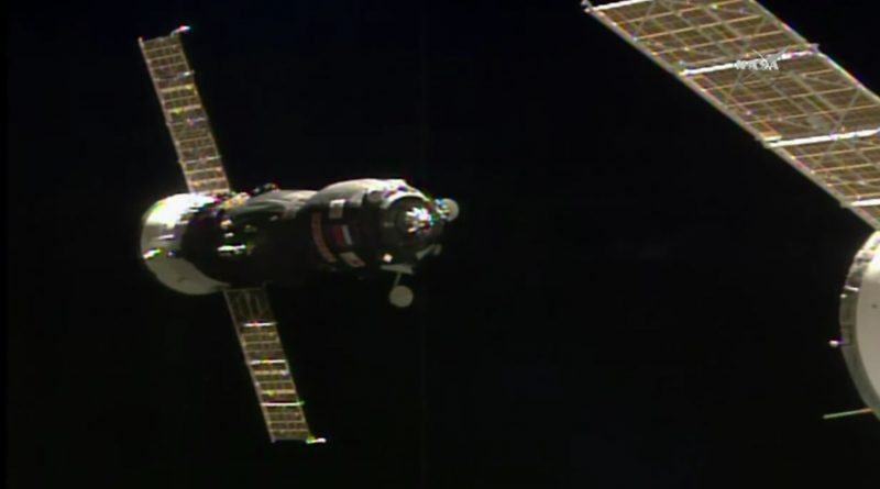 Progress Resupply Craft pulls into Port at ISS after flawless Rendezvous