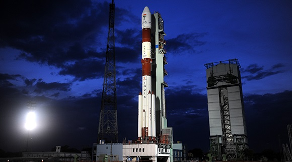 Indian PSLV Rocket set for Record-Breaking Launch with 104 Satellites