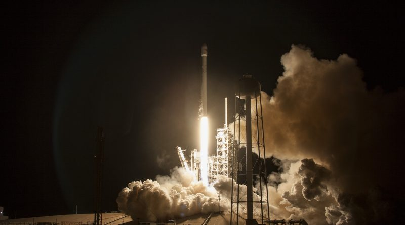 Photos: Legless Falcon 9 lights up the Night
