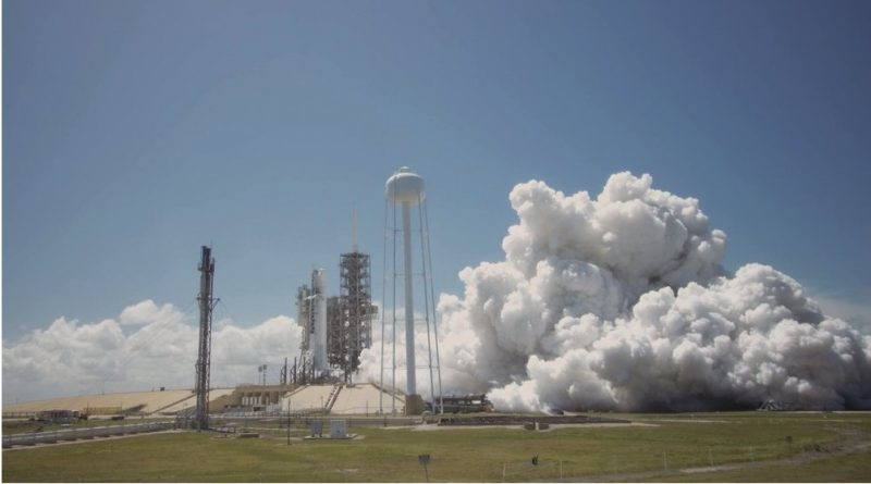 """Flight-Proven"" Falcon 9 fires up for Static Test ahead of Historic Re-Flight Mission"