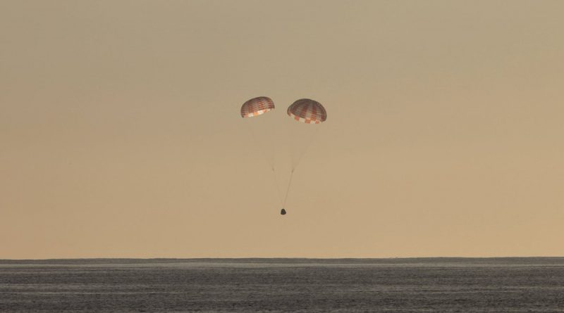 Successful Dragon Splashdown concludes tenth SpaceX Visit to ISS