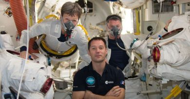 Spacewalkers to outfit Newly Relocated ISS Docking Module, upgrade External Computer System