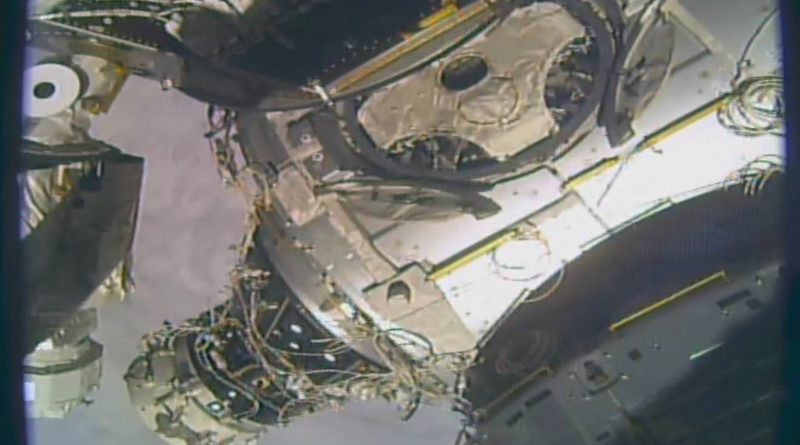 ISS Docking Module Relocates to Establish Second Commercial Crew Docking Port