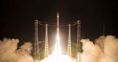 Sentinel-2B enjoys smooth Orbital Delivery atop Vega Rocket to join Europe's Copernicus Fleet