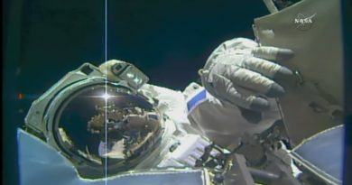 French-American Spacewalking Duo aces busy EVA, ISS Docking Module ready for Robotic Relocation