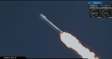 Video: 'Flight-Proven' Falcon 9 launches SES-10 Communications Satellite