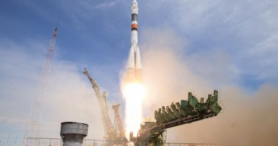 Photos: Russia's Soyuz FG blasts off from Baikonur with Space Station Crew Duo