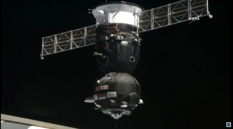 Video: Soyuz MS-04 Docks with ISS after Expedited Rendezvous