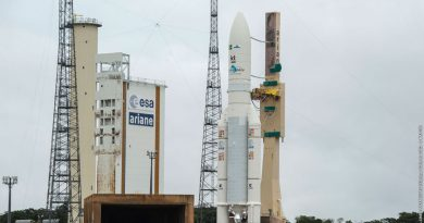 After Strike Ends, Ariane 5 reaches French Guiana Launch Pad for Dual-Payload Delivery Mission