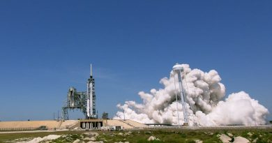 Falcon 9 checks off Static Fire Test ahead of First Dragon Re-Use Mission to ISS
