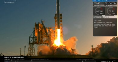 Video: Falcon 9 lifts off with Inmarsat 5-F4 Satellite