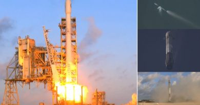 Video: Falcon 9 sends Classified NROL-76 to Orbit, 1st Stage Returns for Powered Landing