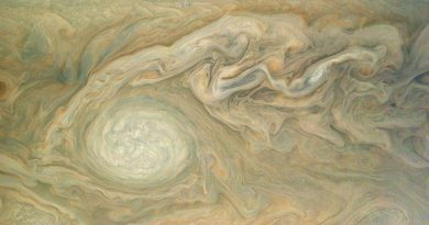 Faraway Juno Spacecraft Zips past Jupiter for Mission's Seventh Close Encounter