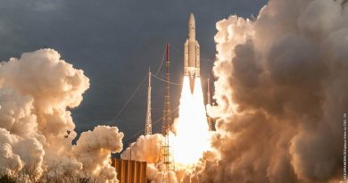Ariane 5 successfully lifts two Telecommunications Satellites for three Operators
