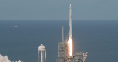 Falcon 9 sends Dragon on High-Profile ISS Resupply Mission, 1st Stage Return sets new Record Time