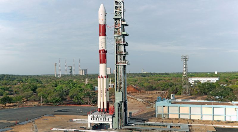 Indian PSLV ready for Friday Morning Liftoff with CartoSat-2E & International Rideshare Passengers