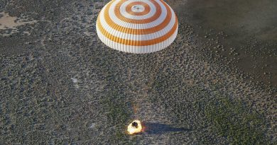 Late Afternoon Soyuz Landing Caps Successful Homecoming of Space Station Crew Duo