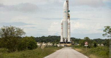 Ariane 5 Rocket set for Heavy Haul with two Communications Satellites