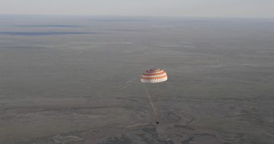 Photos: Pre-Sunset Soyuz Landing with Two ISS Crew Members