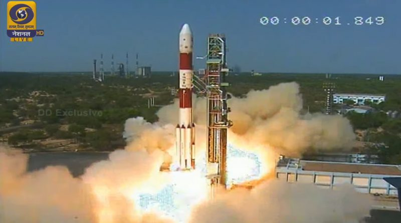 Video: India's PSLV dispatches International Group of Satellites